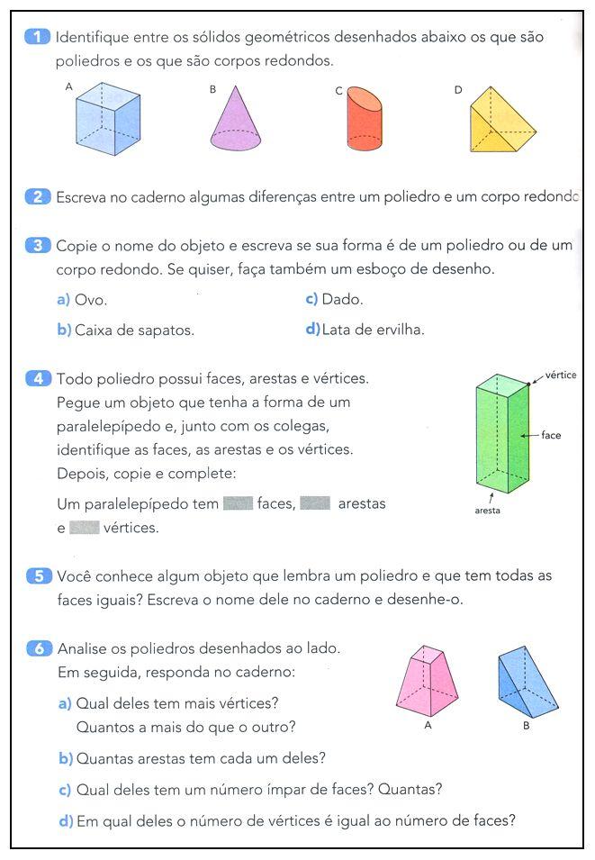 Poliedros e Corpos Redondos  |   Rérida Maria
