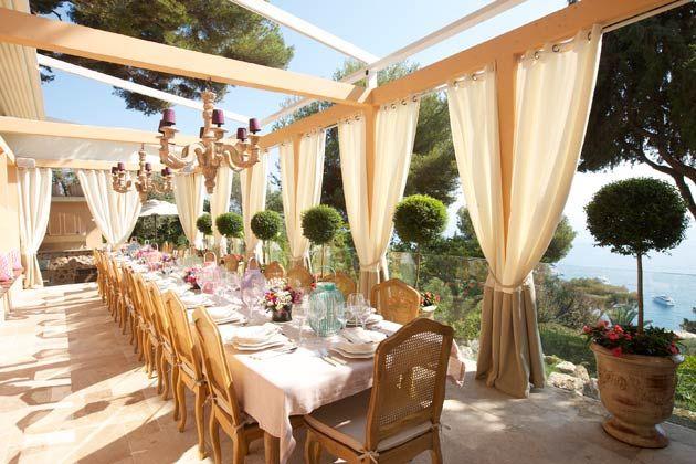 Cap Martin's Villa Egerton The outdoor dining dream!