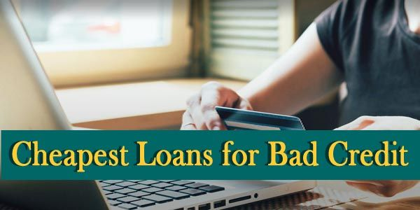 When it comes to take out a loan to tackle the financial needs then cheapest loans for bad credit borrowers are the perfect alternative. These loans are easily accessible with affordable terms at Easy Loans UK.