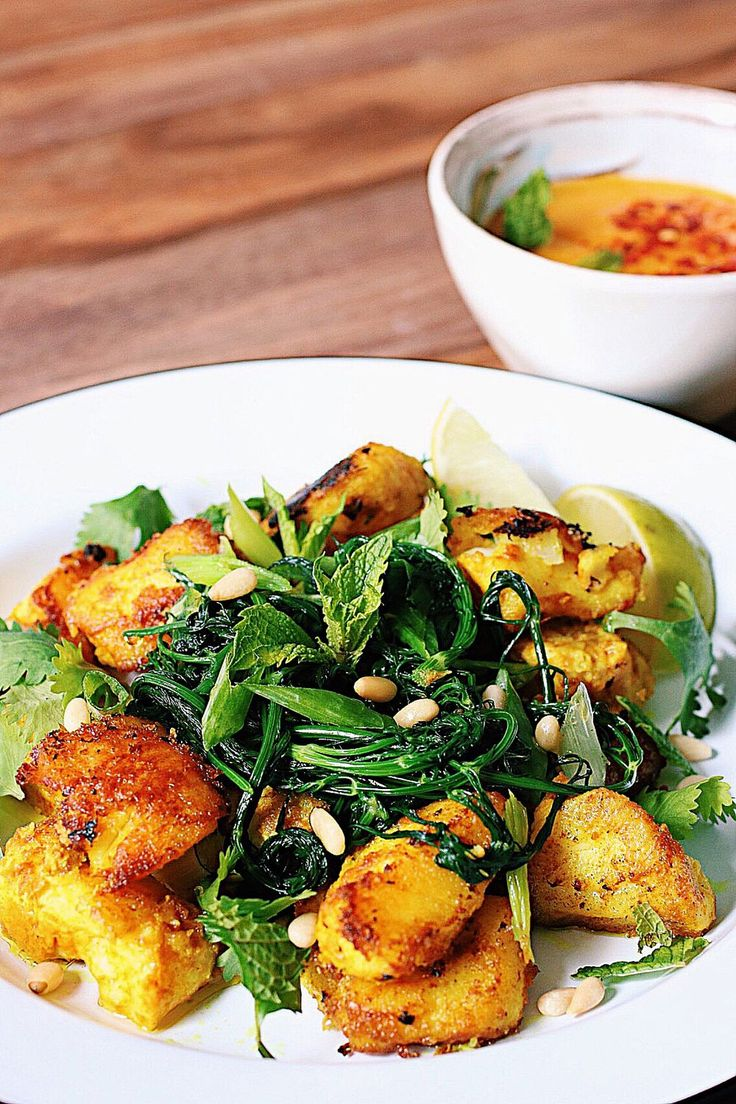 Vietnamese turmeric fish with herbs and mango dipping for Vietnamese fish sauce recipe