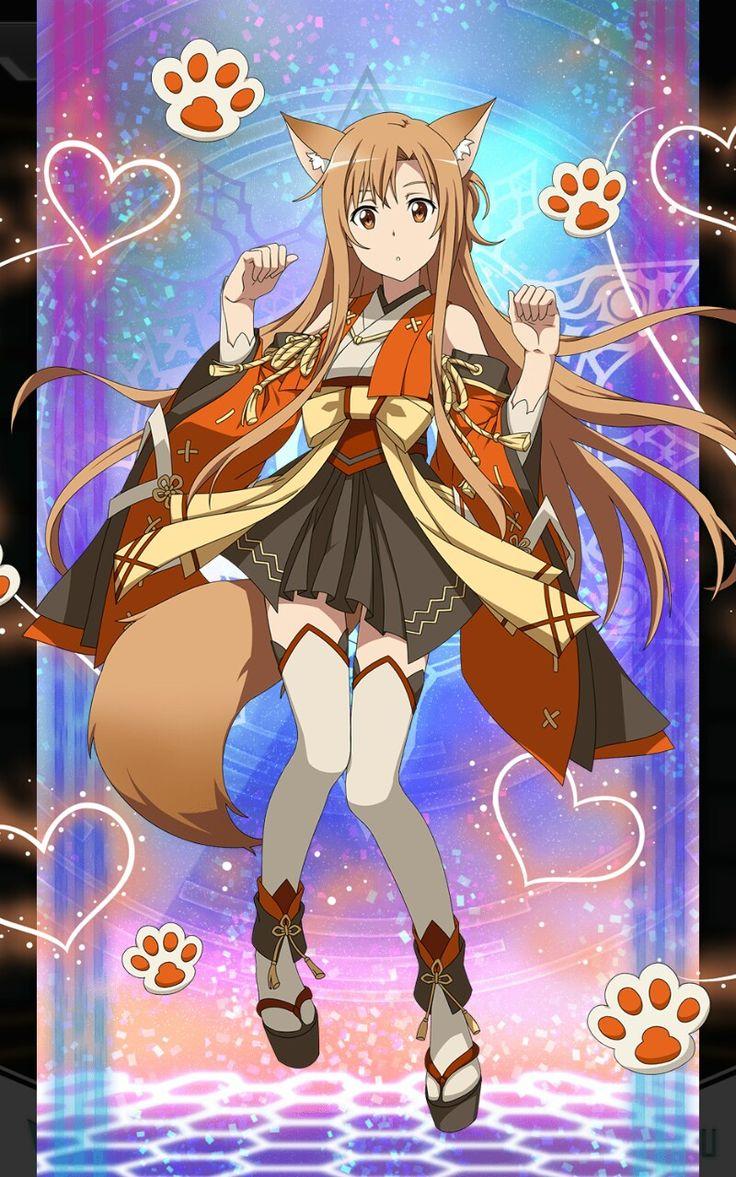 Sword Art Online ~ Asuna en loup