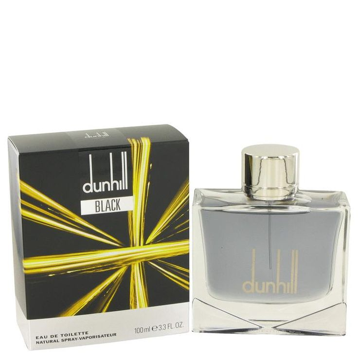 Dunhill Black Eau De Toilette Spray By Alfred Dunhill For Men