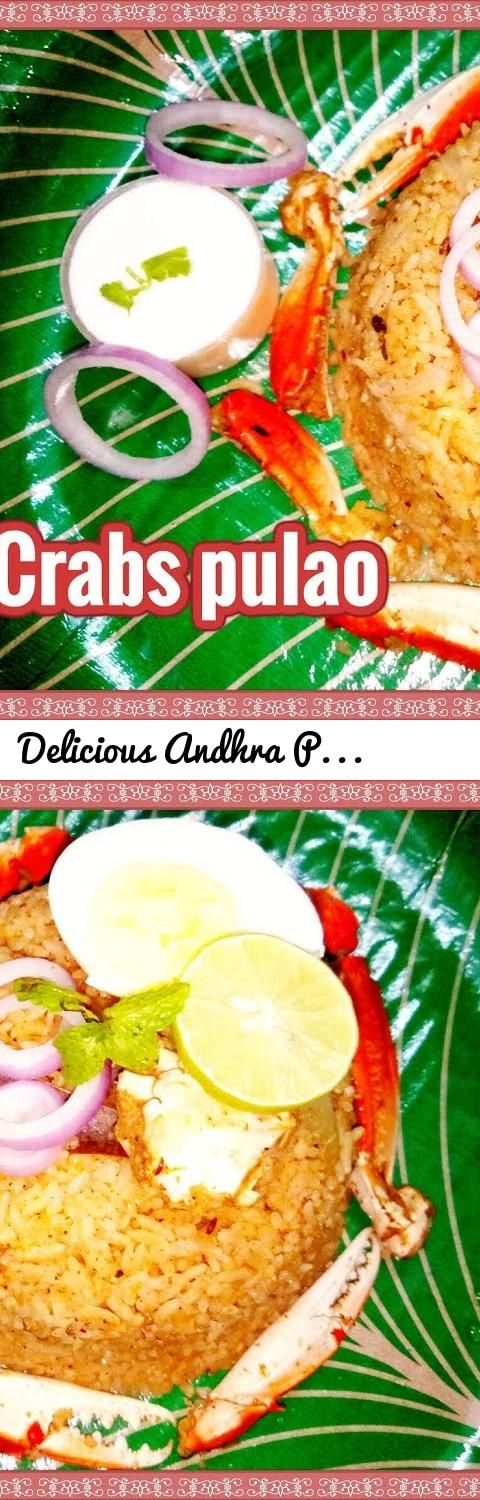 Delicious Andhra Peetala Pulao in village style/ Tasty Crabs pulao... Tags: telugu vantalu, tasty and spicy recipes. south Indian recipes, Andhra vantalu, Crab Rice, चिंबोरी भात, Crab Biriyani, Crab Fried Rice Recipe, shrimp and crab rice, Crab Curry, Seafood Recipes, How to clean crab, crab curry with coconut milk, goan crab curry recipe, Crab Sukka Recipe, crab soup, malavani crab, khekda, khekdache kalvan, chimbori rassa, chimbori, koli recipes, malvani khekda, CKP style khekda, andhra…