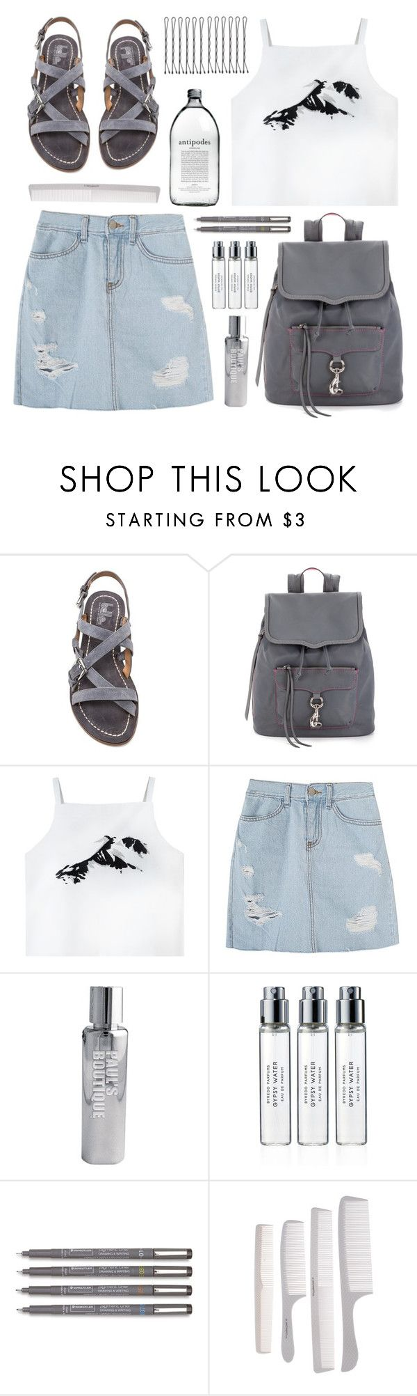 """Acquaintences"" by dana-rachel ❤ liked on Polyvore featuring belle by Sigerson Morrison, Rebecca Minkoff, Paul's Boutique and Byredo"
