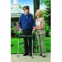 "INVACARE CORPORATION Adult Dual Blue-Release Walker by Invacare. $44.86. Height Adjusts: 32-39"". Model: INV6240A. Quantity: 1. Fits Users: 5'4""-6'6"". Weight Capacity: 300 lbs. Stable, lightweight, easy to lift and maneuver. Dual Blue-Release mechanisms provide both visual and audible ""locked"" cues. Anti-rattle ""silencers"" for quite operation. Compatible with most Invacare Walker Accessories (not to be used with Walker Tray or Walker Basket). Rigid dual side brac..."