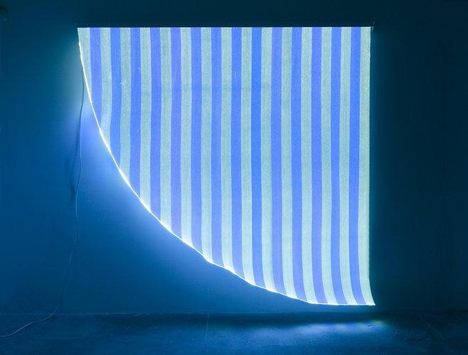 1   Glowing Tapestries Woven From Fiber Optic Strands   Co.Design: business + innovation + design
