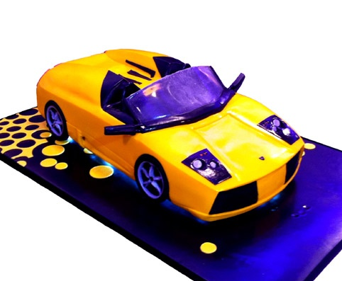 Lamborghini Gallardo Cake