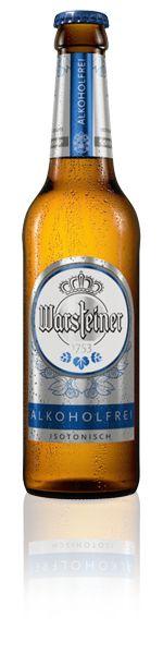 Warsteiner Alkoholfrei - Den vollen WARSTEINER Pilsgeschmack sollte man jederzeit genießen können: Deshalb erfrischt dieses Pilsener – alkoholfrei & isotonisch. Der ideale Durstlöscher auch für Sport und Freizeit.