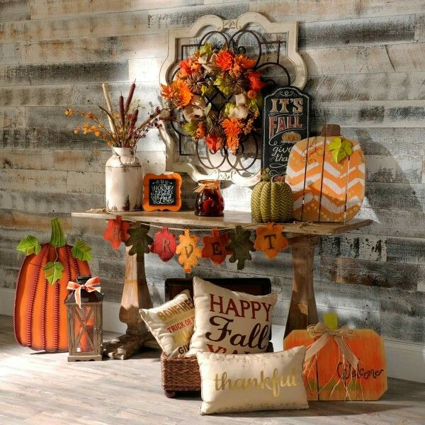 Pinterest Home Decor Wall Ideas: 1868 Best Harvest Decorations Images On Pinterest