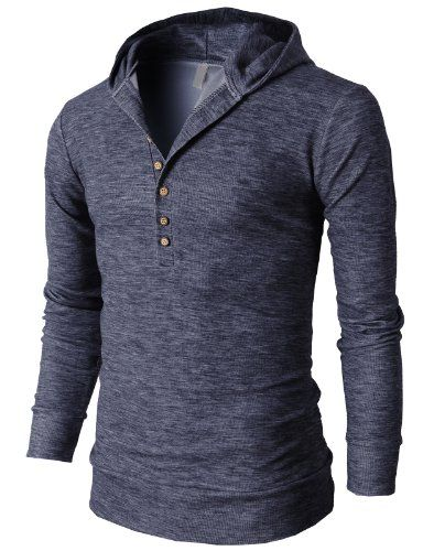 Pieces like this are my favorite, I'm a hoodie type of guy. H2H Mens Casual Slim Fit Hooded Henle... $36.99