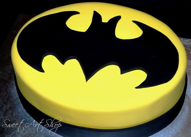 Holy cake, Batman! by Sweet Art Shop {Gaby}, via Flickr