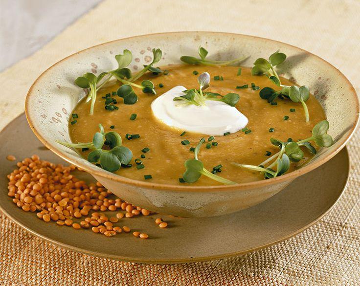 Crema di lenticchie rosse - Cucina Naturale