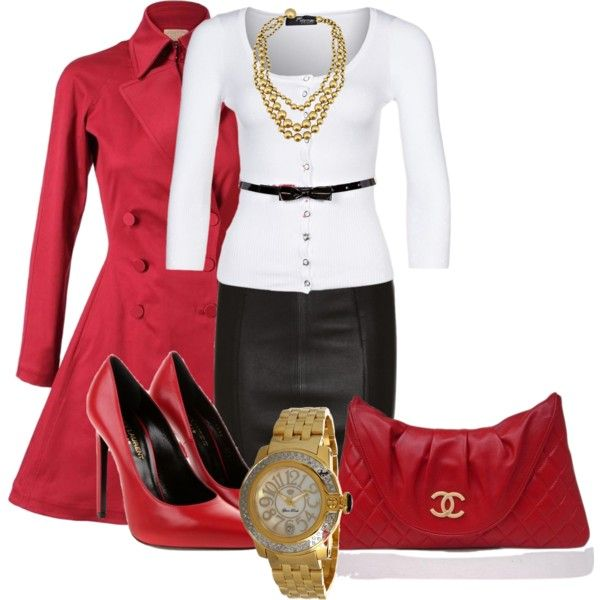 Shes a Lady by elenh2005 on Polyvore
