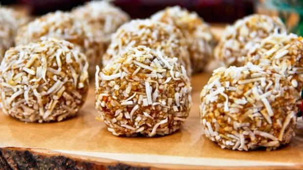 Raw Carrot Cake Balls | Steven and Chris | Joy McCarthy's raw carrot cake balls make an ultimate dessert!