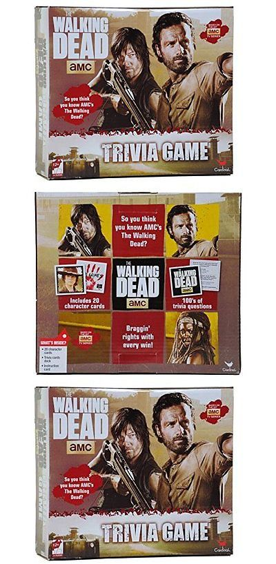 Games 145978: Bestselling Walking Dead Trivia Game Based On The Hit Amc Tv Series By Cardinal -> BUY IT NOW ONLY: $30.95 on eBay!