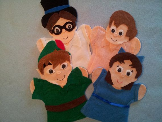 Hey, I found this really awesome Etsy listing at https://www.etsy.com/listing/126190385/peter-pan-puppets
