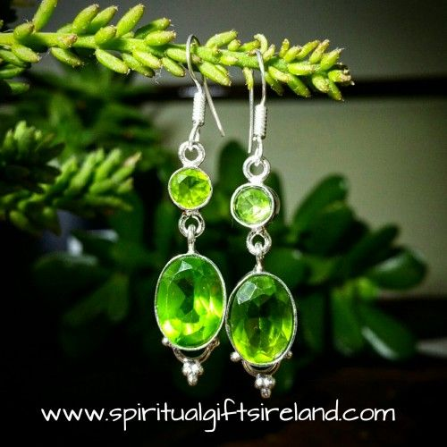 Handcrafted Peridot Earrings  Visit our store at www.spiritualgiftsireland.com  Follow Spiritual Gifts Ireland on www.facebook.com/spiritualgiftsireland www.instagram.com/spiritualgiftsireland www.etsy.com/shop/spiritualgiftireland We are also featured on Tumblr