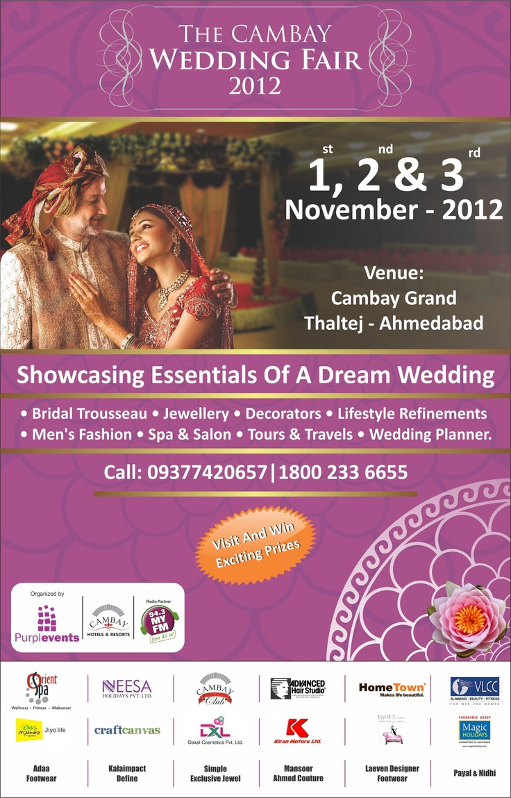 The Cambay Wedding Fair 2012
