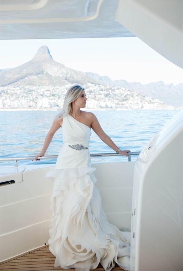 Cape Town yacht post-wedding shoot | Shireen Louw