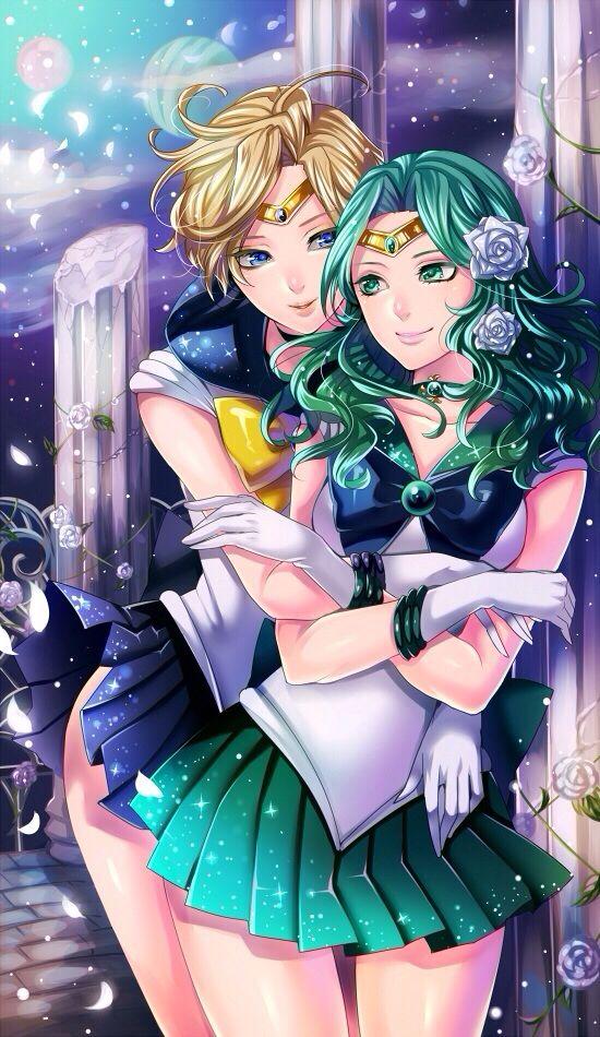 Uranus & Neptune | Sailor Moon | Pinterest