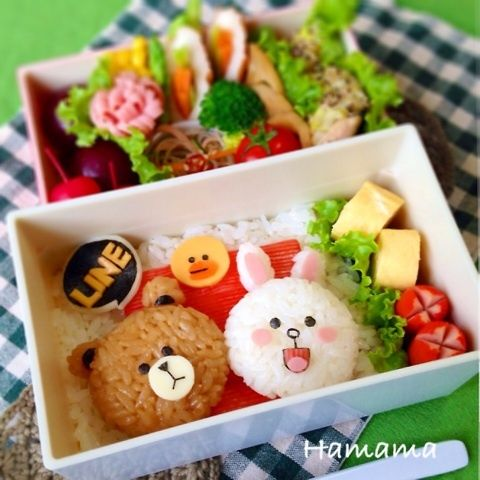 Connie & Brown bento
