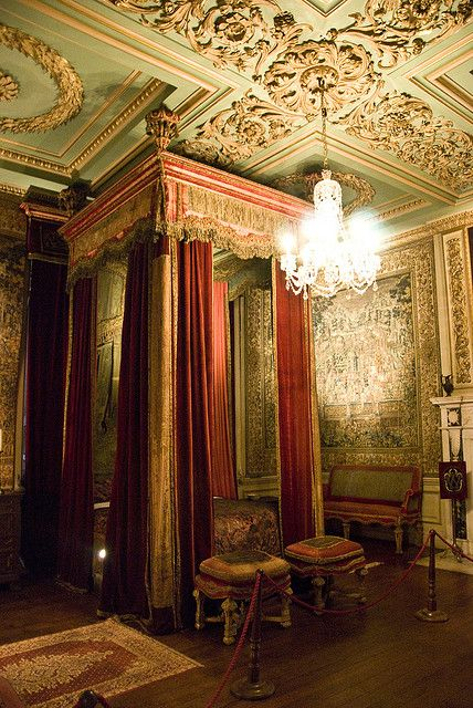 Warwick Castle Interior - Kate and Hotspurs bedroom