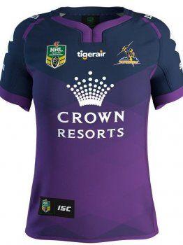 Melbourne Storm 2017 Season Purple Rugby Jersey [J149]
