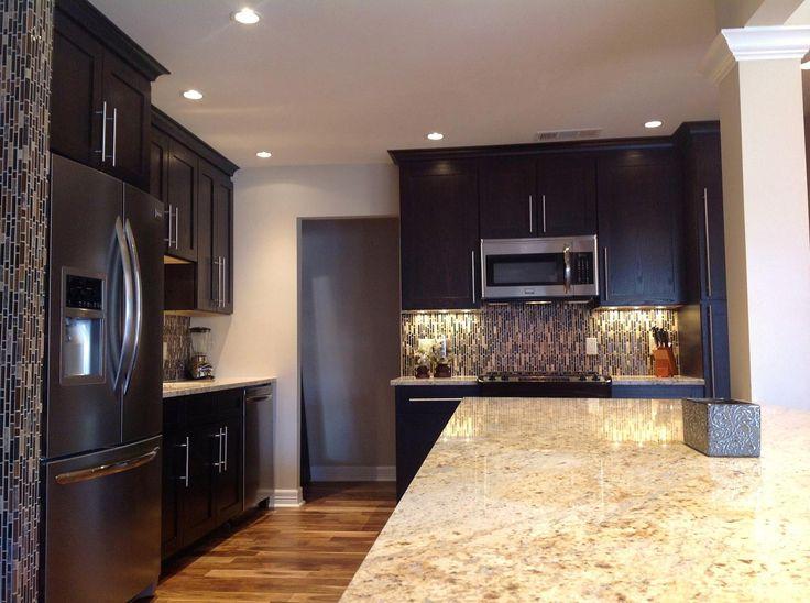 Colonial gold granite kitchen countertops remodel for Bath remodeling san antonio