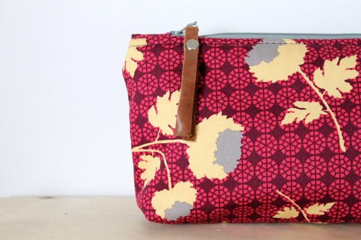 Cosmetic bag, make up bag, mother's day, bridesmaid's gift,. $18.00, via Etsy.