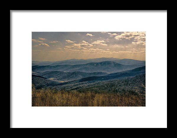 Shenandoah Vista #FramedPrint by Joan Carroll.  All framed prints are professionally printed, framed, assembled, and shipped within 3 - 4 business days and delivered ready-to-hang on your wall. Choose from multiple print sizes and hundreds of frame and mat options. Visit joan-carroll.pixels.com for more #PHOTOS #ARTWORK and #GIFTIDEAS for any occasion!