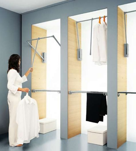ordenacion armarios con barras hidraulicas
