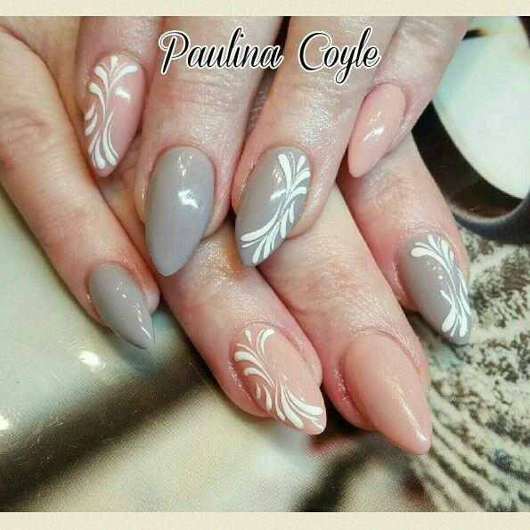 Gel Nails plus sugar effect