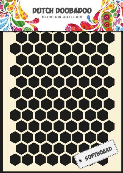 478.007.001 Dutch Sofboard Art Honeycomb Formaat A5 (ook wel bierviltkarton)