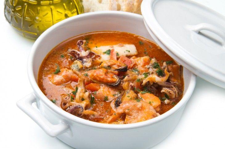 En mustig soppa på fisk och skaldjur!
