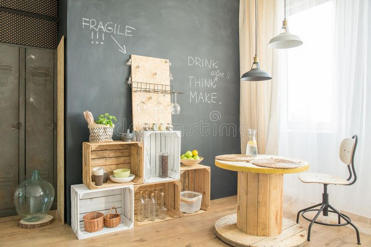 Download Hygge Cafe With Upcycled Furniture Stock Photo - Image of design, chair: 96089226