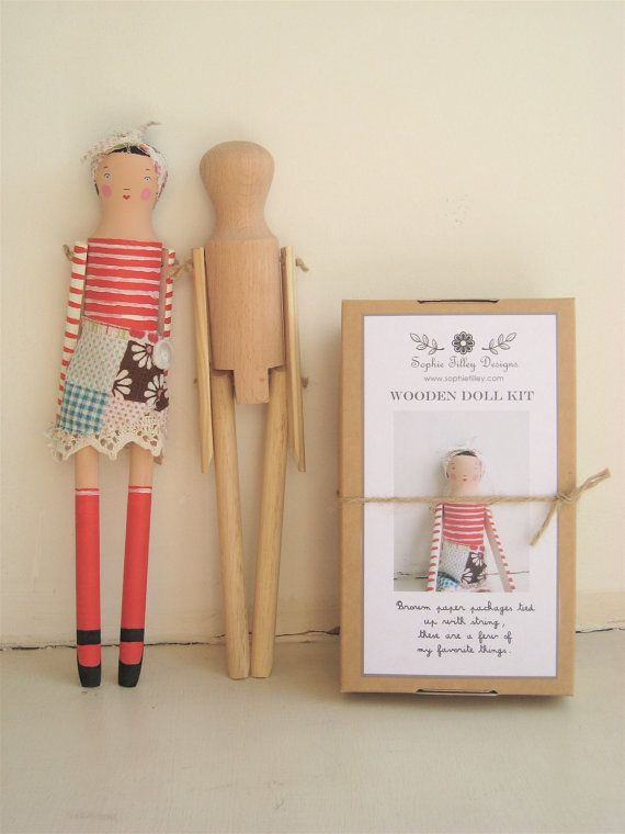 Doll Kit by SophieTilleyDesigns on #Etsy, 14.99