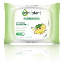 Elmiplant Cleansing Wipes For Normal Combination Skin