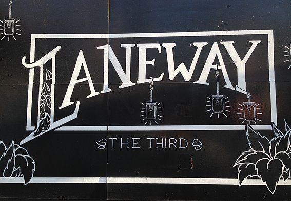 Laneway the Third, 2014.