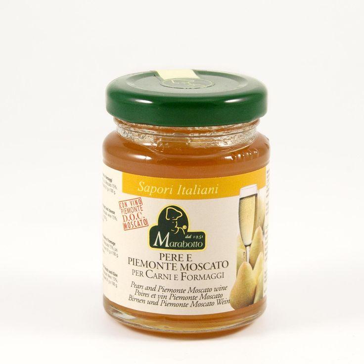 Marabotto, salsa pere e Piemonte Moscato gr 110