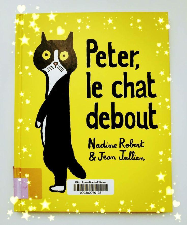 Peter, le chat debout !