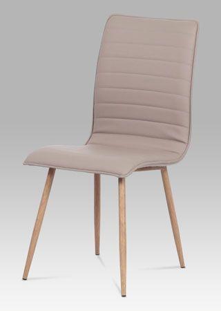 HC-368 LAN  Velmi populární a oblíbené židle budou ozdobou každého interiéru. Nohy jsou kovové v dekoru dubu, sedák s opěrákem čalouněný látkou. Nosnost do 100 kg.