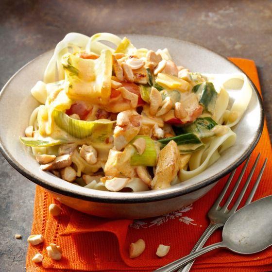Restjes kokoksmelk of boemboe kun je prima invriezen in ijsblokzakjes. #tagliatelle #recept #JumboSupermarkten