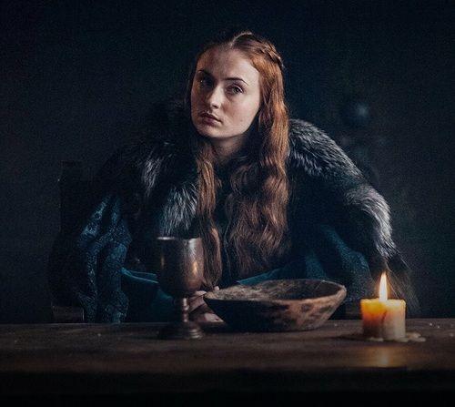 Sansa Stark, game of thrones season 7. Sophie Turner