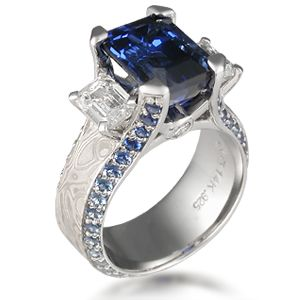 Awesome Three Stone Juicy Liqueur Engagement Ring This luxury engagement ring is a three stone version Expensive Engagement RingsDiamond
