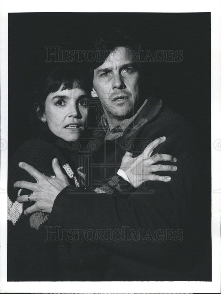 1992 Press Photo Brooke Adams Actress Tim Matheson Sometimes They Come Back