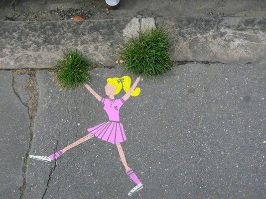 Pom Pom Girl by Sandrine Estrade Boulet (http://www.sandrine-estrade-boulet.com)