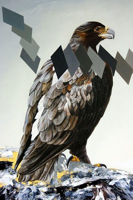 Observación 120 cm x 81 cm Oleo-Lienzo 2008 2500€ #arte #art #cuban #CesarIvan