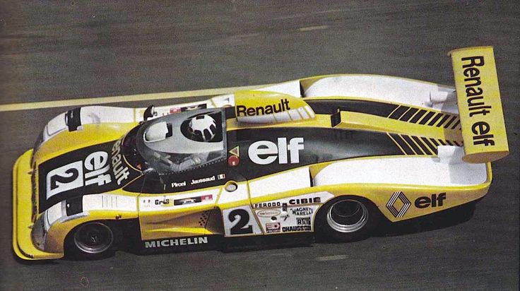 #1978 Renault Alpine A442B no.2 winner at the 24 Hours of Le Mans ~ Didier Pironi