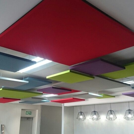 Acoustic Ceiling Baffles by Acoustic Walling Solutions