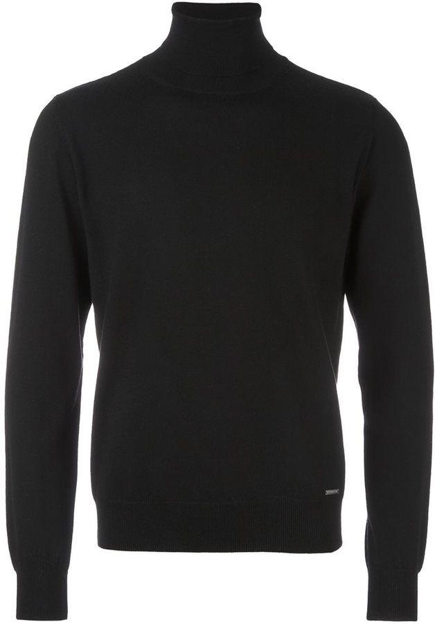 DSQUARED2 classic roll neck jumper